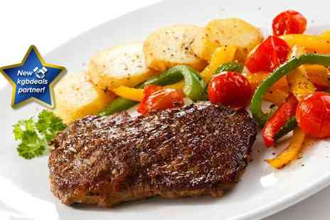 Il Boteglio - Delicious steak meal for two including a glass of wine - Save 62%