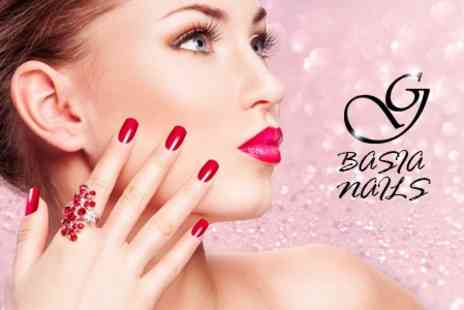 Basia Nails - Shellac Manicure or Pedicure - Save 60%
