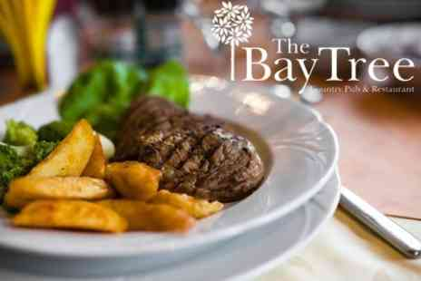 The Bay Tree - Sirloin Steak or Fish and Chips Meal For Two - Save 60%
