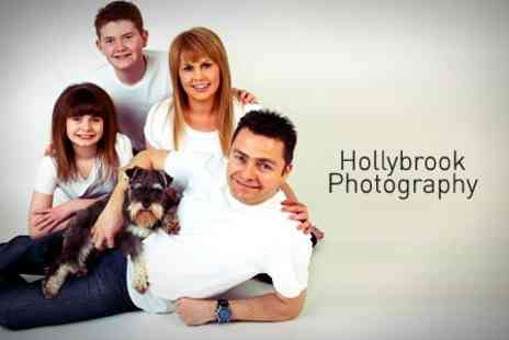 Hollybrook Photography - One Hour Photoshoot With Five Prints - Save 90%