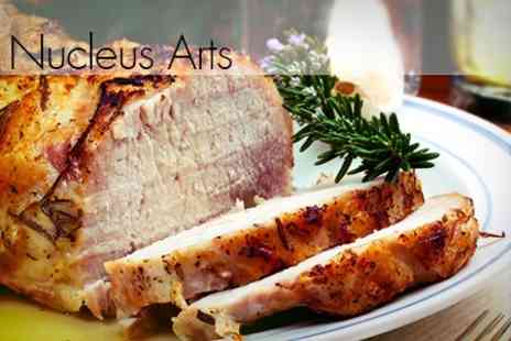 Cafe Nucleus - Two Course Sunday Lunch For Two - Save 54%