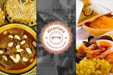 El Cantara - Three Course Spanish and Moroccan Meal For Two - Save 64%