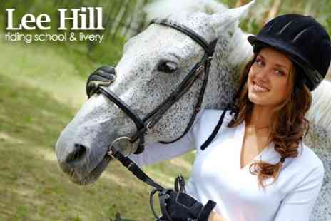 Lee Hill Riding School - One Private Lessons - Save 69%