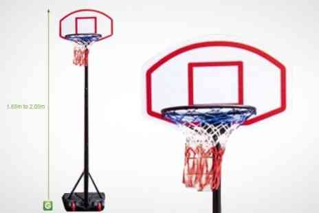 EasyGift Products - Free Standing Basketball Hoop Set - Save 50%