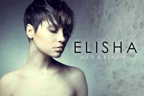 Elisha Hair and Beauty - Cut, Blow Dry and Conditioning Treatment - Save 62%