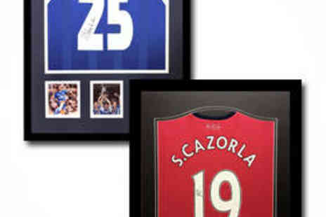 All Star Signings - Framed Arsenal Shirt Signed by Tony Adams - Save 50%