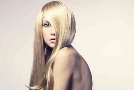 Karda Hair & Beauty - Colour or a half head of highlights, condition, cut & blow dry plus bubbly - Save 77%