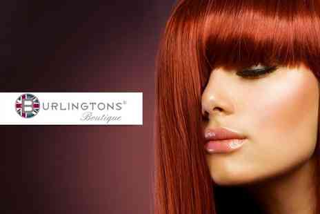Burlingtons - Wash, cut, blow dry and conditioning treatment - Save 74%