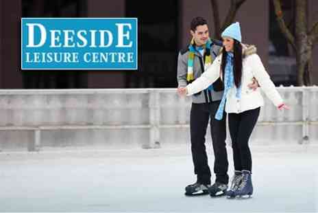 Deeside Ice Rink - Ice Skating For Two - Save 61%