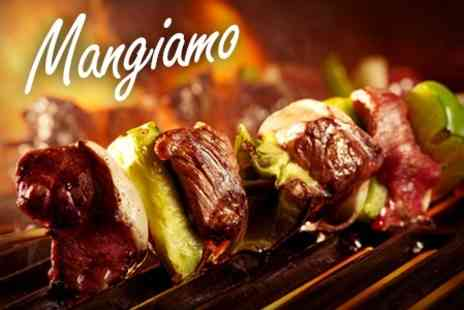 Mangiamo - Mediterranean Cuisine Meze and Charcoal Grill Meal For Two - Save 54%
