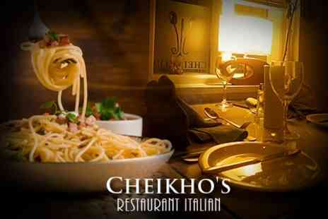 Cheikhos Restaurant - Two Course Italian Meal For Two With Coffee - Save 61%