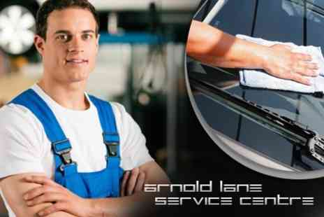 Arnold Lane Service Centre - Air Conditioning Re Gas and Service With Check Up and Car Wash - Save 75%