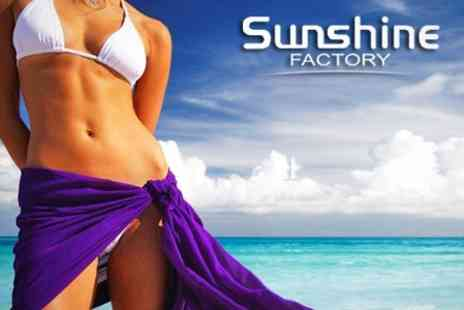 The Sunshine Factory - Laser Lipolysis Three Sessions - Save 87%