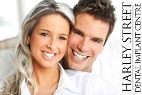 Harley Street Dental Implant Centre - Dental Implant With Crown - Save 56%