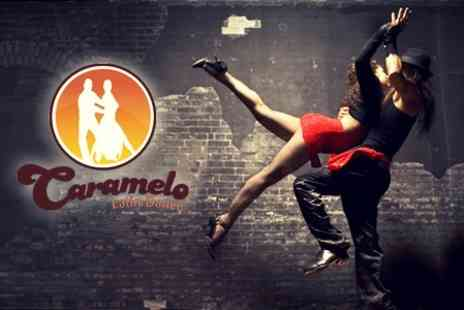 Caramelo Latin Dance Academy - Salsa, Cha-Cha, Mambo or Bachata Four Beginners Classes - Save 50%