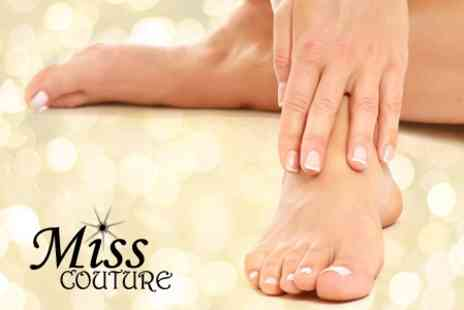 Miss Couture Beauty and Laser Clinic - Shellac Manicure or Pedicure - Save 60%