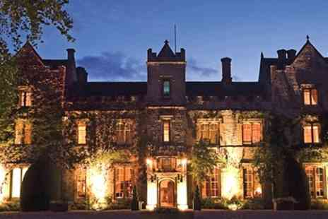 The Manor - In Cotswolds One Night Stay For Two With Breakfast - Save 51%
