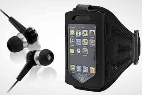 Uerotek - Sports Armband Case For iPhone 4/5 or Samsung S3 - Save 75%