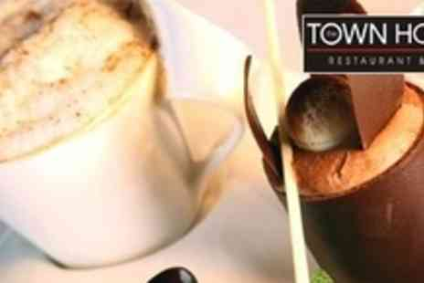 The Town House - Two Courses of Modern European Cuisine for Two Plus Glass of Prosecco - Save 62%