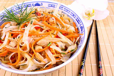 Vnam - Vietnamese lunch for 2 people including a main course & soft drink each - Save 53%