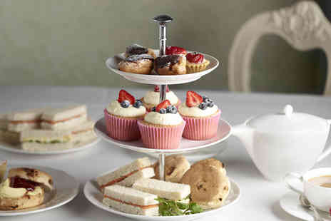 Stuart Hotel - Afternoon Tea for 2 including sandwiches, cakes, scones, & coffee or tea - Save 68%