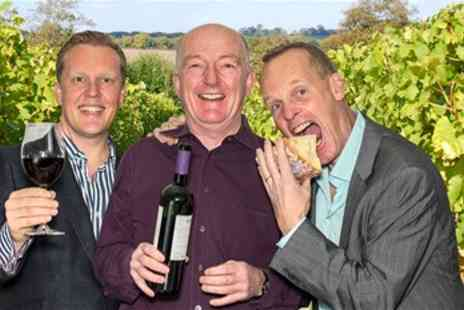 Three Wine Men - Wine Tasting Event with Oz Clarke & Olly Smith - Save 40%
