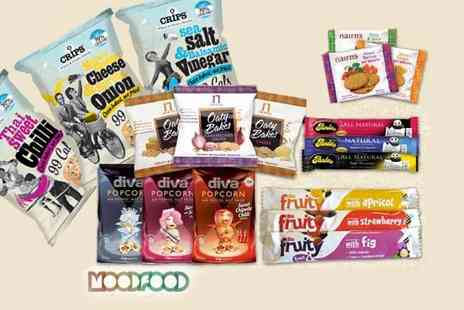 Mood Food Company - Noughty Nibbles Office Snack Pack - Save 53%