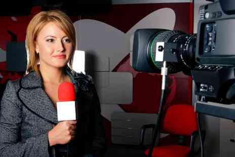London Academy of Media Film and TV - TV Presenter for a Day Experience - Save 54%