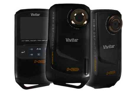 Vivitar - Waterproof Digital Video Recorder - Save 26%