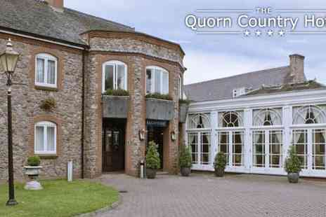 Quorn Country Hotel - 1 Night Stay For 2 People in Leicestershire - Save 41%