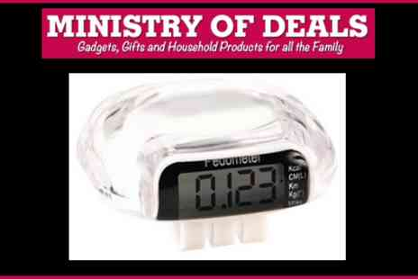Ministry of Deals.com - Keep Track of your Weight Loss with this Micro Pedometer and Calorie Counter - Save 67%