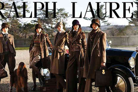 French Polo - Ralph Lauren clothes This £50 voucher is great as a gift, or a treat for yourself for the coming summer - Save 88%