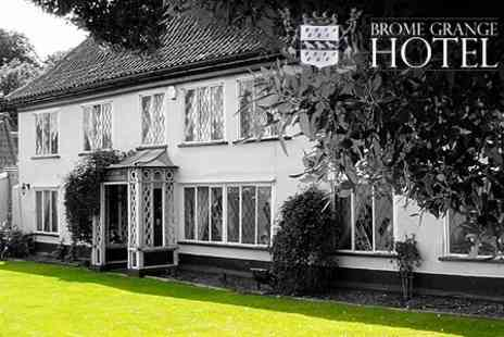 Brome Grange Hotel - Party For Up to 40 People With Venue Hire - Save 75%