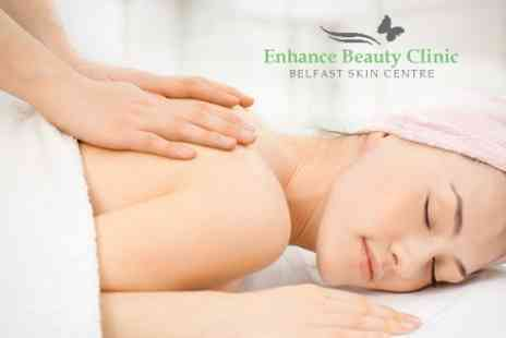 Enhance Beauty Clinic - Back Massage, Facial or Gel Nails - Save 41%