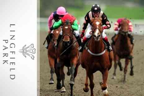 Lingfield Park - Horse Racing Two Tickets to Derby Trials - Save 61%