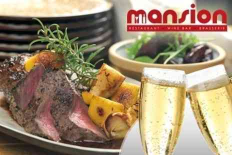 Mansion Wine Bar - Sunday Lunch For Two Plus Cocktails and Sharing Platter - Save 62%