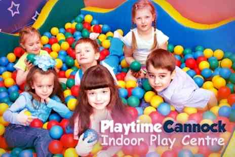 Playtime Cannock - Childrens Soft Play Party - Save 62%