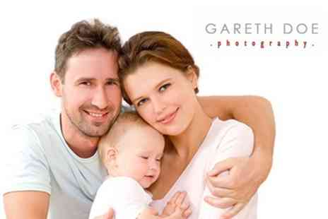 Gareth Doe Photography - Family or Fashion Makeover Photoshoot With Art Block, Prints and DVD - Save 93%