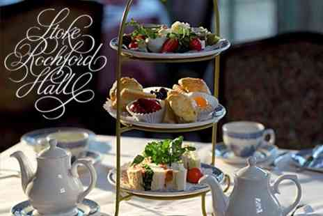 Stoke Rochford Hall - Afternoon Tea For Two - Save 60%