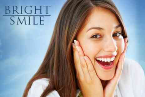 Bright Smile - Customised Teeth Whitening Moulds With Solution For One - Save 84%