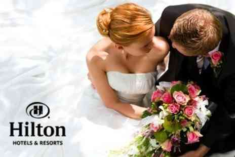 Hilton East Midlands - Wedding Package With Three Course Breakfast For Up to 50 Guests and Evening Buffet for Up to 80 Guests - Save 57%