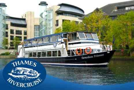 Thames Rivercruise - For Two Adults - Save 50%