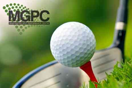 Manchester Golf Performance Centre - One Hour PGA Lesson With Video Analysis For One - Save 70%