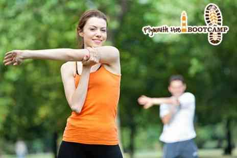 Plymouth Hoe Bootcamp - Ten Outdoor Sessions - Save 70%