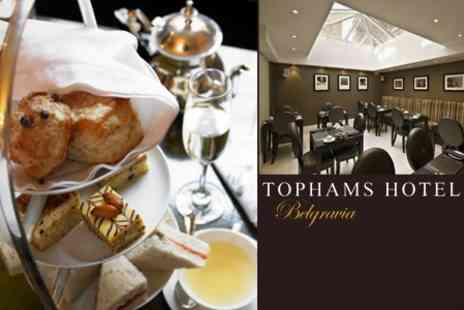 Tophams Hotel - Afternoon Tea With a Twist For Two - Save 58%