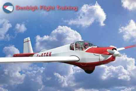 Denbigh Flight Training - Interactive Flying Experience Plus Airfield Membership - Save 52%