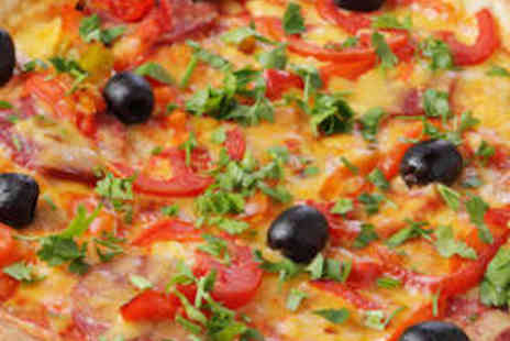 Sofias Italian Restaurant - Pizza Meal for Family of Four - Save 75%