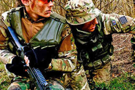 C3 Tactical - Day of Airsoft with Equipment Hire for Two People - Save 78%