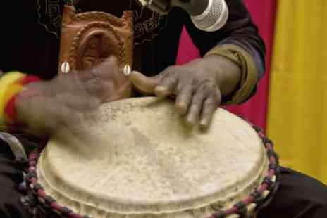 London African Drumming - An African drumming class - Save 17%