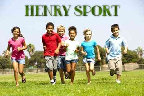 Henry Sport - Kids Summer Camp Five Days of Sports, Dance, Arts and Crafts - Save 50%